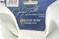 Silver Holiday Bow - The Jaclyn Smith Collection