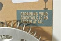 "Bonny Bar Cocktail Strainer ""Ahh, Martini Time"""