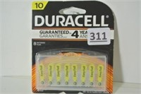 Duracell Hearing Aid Batteries 8 Pack