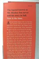 Mr. Hockey Gordie Howe Autobiography