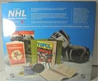 NHL Hockey Treasures Memorabilia Deluxe Package
