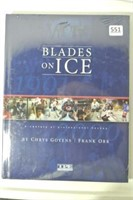 Shrink Wrapped Blades On Ice Coffee Table Book