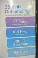 Kenmore 35Pint Dehumidifier