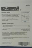 Kenmore Refrigerator Water Filtration Cartridge