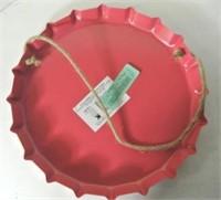 Metal Wall Hanging / Beverage Tray