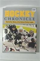 Deluxe Hockey Chronicle Reference Book