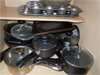 Lot of Pots & Pans