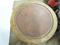 Antique End Table - 21x21x23