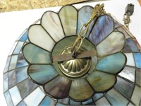 Stained Glass Tiffany Style Hanging Light Fixture