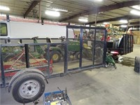 Landscaping Trailer  with Title / Plate - Two