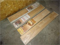 Four Boxes of Laminate Flooring- Roughly 89 Sq Ft