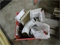Large Assortment of Unused Vinyl Siding Flashing