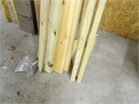 Assorted Lumber and Wood Beams