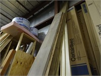 Assorted 2x10 and 2x12 Boards - Some Treated, Up