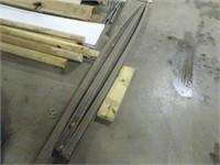 Three Unused Composite Decking Rails - 12 Feet