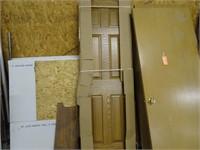 """New Solid Oak Prehung 6 Panel Door (approx 26"""")"""