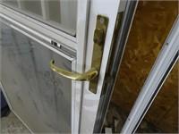 """35"""" Patio Door with Wrought Iron"""