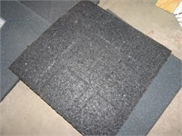 Roughly 200 Rubber Outdoor Pavers - 16x16x.75""
