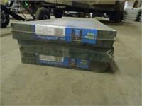 3 Sets of 14x39 Plastic Shutters