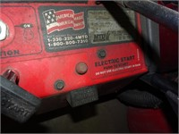 Electric Start Snow Thrower (Consignor states it