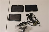 Lot of Three Magellan GPS Units with Accessories