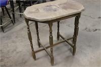 Antique Table - 32x30x30T
