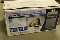 Used Richmond Tankless Gas Water Heater