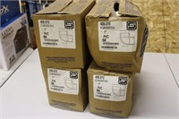 """Four Cases of 50ea 1"""" Plastic Elbow Pipe Fittings"""