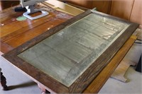 Vintage Mirror with Wood Frame - 24x47