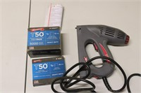 Arrow ET501 Electric Staple Gun with Staples