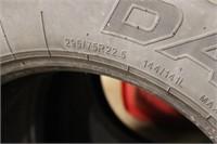 Three Oversize Tires - 295/75 R22.5