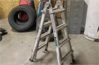 Pro Advantage All-in-one Ladder - Up to 17 feet