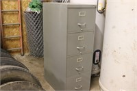 Oversize File Cabinet - 28x18x52T