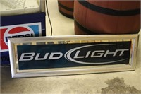 Bud Light Mirror 41x13
