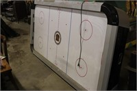 NHL Air Hockey Table - Top is a little over 4x8
