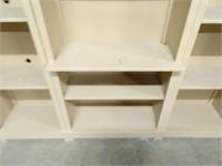 3 Piece Shelving Unit - 83 x 16 x 74H When Stood