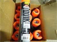 11 Cans of Krylon Industrial Fluorescent Marking