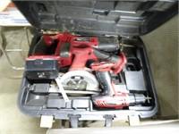Tool Shop Sawzall - Circular Saw - Power Drill in
