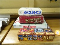 Assorted Board Games and Related