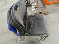 Five Waiting Room Chairs