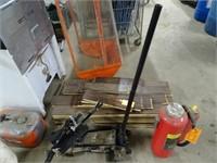 3 Ton Hydraulic Floor Jack w/ Attachment -