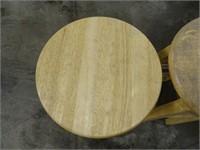 Set of Wooden Stools