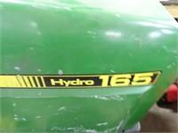 John Deer Hydro 165 Riding Mower - Runs -