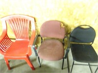 Assorted Chairs (3 Total)