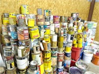 Large Lot of Paints, Stains, Sealers, Finish, and
