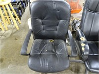 Three Heavily Used / Beat up Office Chairs