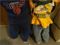 Chicago Bears / Green Bay Packers Hide and Seek