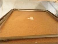 Folding Card Table - 34x34x28H