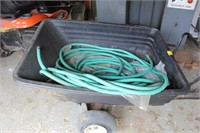 Pull Behind Plastic Lawn Trailer and More
