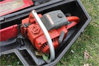 Homelite Gas Chainsaw with Case